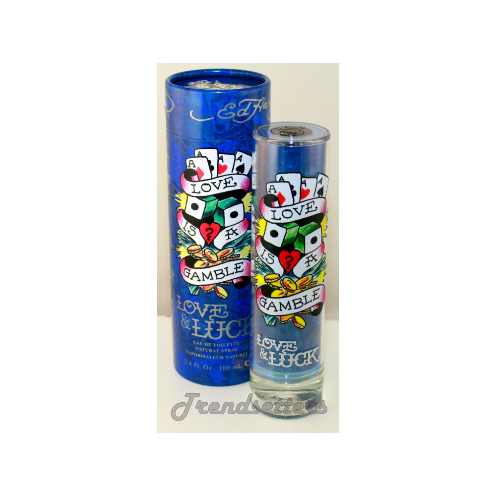 Ed Hardy By For Men Eau De Toilette Spray 3 4 Ounces: Christian Audigier LOVE & LUCK 3.4 Oz/100ml Eau De Toilette Spray