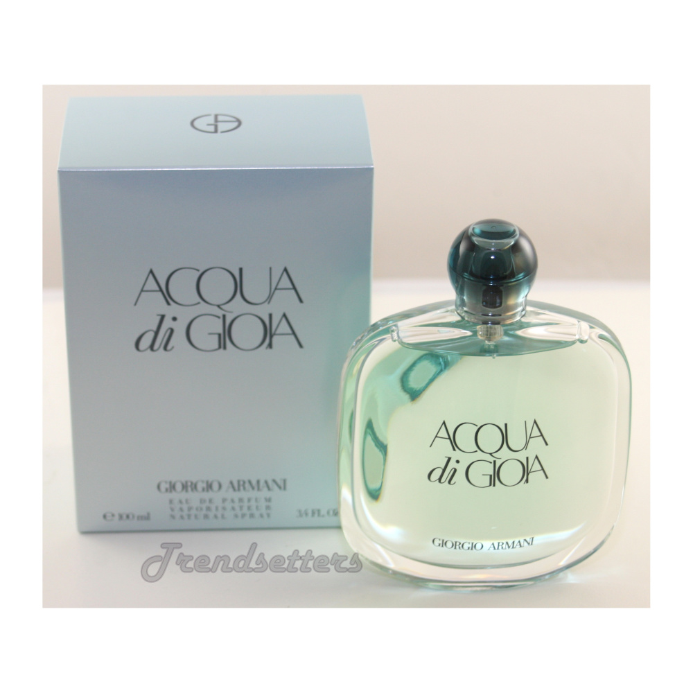 Giorgio Armani Acqua Di Gioia For Women 34 Oz 100ml Eau De Parfum Spray Diamonds
